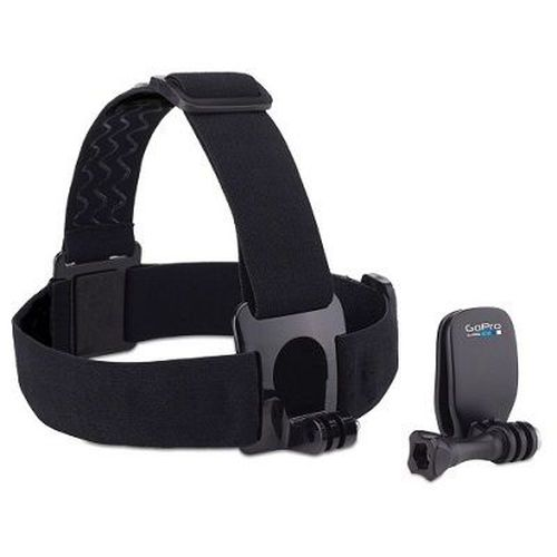 cumpără GoPro Head Strap + QuickClip -wear your GoPro on your head with the Head Strap, or use the QuickClip to attach it to a backwards baseball cap or other 3mm to 10mm thick object, compatible with all GoPro cameras. în Chișinău