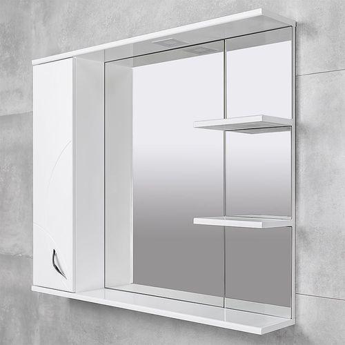cumpără Dulap-oglindă Premium alb 1000 L în Chișinău