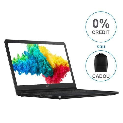 "купить DELL Inspiron 15 3000 Black+Win10 (3576), 15.6"" HD (Intel® Core™ i3-7020U 2.30GHz (Kaby Lake), 4GB DDR4 RAM, 1.0TB HDD, Intel® HD Graphics 620, CardReader, WiFi-N/BT4.2, 4cell,HD 720p Webcam, RUS, Win10HE, 2.3kg.) в Кишинёве"