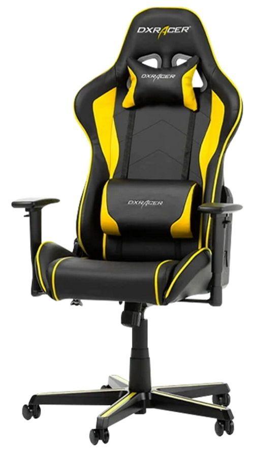 купить Gaming кресло DXRacer Formula GC-F08-NY-H1, Black/Black/Yellow в Кишинёве
