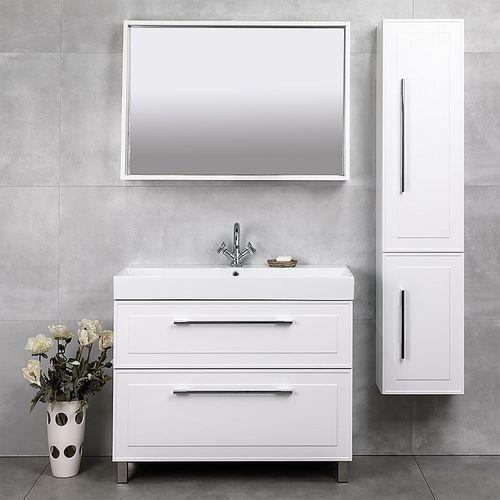 купить Porto Зеркало белое структурное Led 1000 в Кишинёве