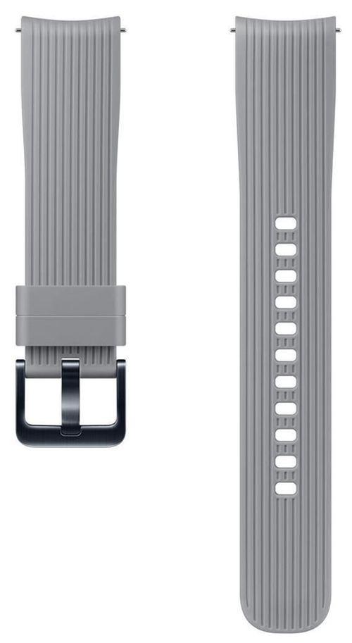 купить Аксессуар для моб. устройства Samsung ET-YSU81 Silicone Band for 42mm, Gray в Кишинёве