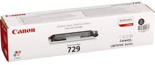 купить Cartridge Canon 729 Black (2300 pages) for LBP-5050/5050N, MF8030Cn/8050Cn/8080Cw в Кишинёве