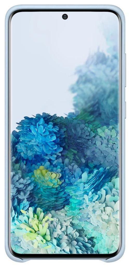 купить Чехол для моб.устройства Samsung EF-VG980 Leather Cover Sky Blue в Кишинёве