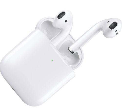 cumpără Cască fără fir Apple AirPods 2 with Charging Case White (MV7N2) în Chișinău
