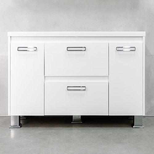купить Montana Шкаф белый хром с умывальником Auris 1200 в Кишинёве