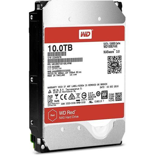 купить 3.5'' HDD 10.0TB  Western Digital WD100EFAX Caviar® Red™ NAS, IntelliPower, 256MB, SATAIII в Кишинёве