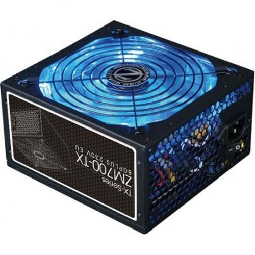 "cumpără PSU ZALMAN ""ZM600-TX"", 600W, ATX 2.31, 80 PLUS®, Active PFC, 140mm Quiet Blue LED Fan, Smart Fan Control, Dual Forward Switching,  +12V (53A), 20+4 Pin, 1xEPS(4+4Pin), 5xSATA, 2xPCI-E(6+2pin), 4x Periph., Black în Chișinău"