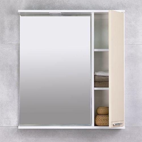купить Rivera Шкаф-зеркало беж 750 R в Кишинёве