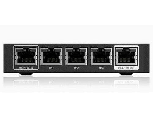 купить Ubiquiti EdgeRouter X, 5-port Gigabit Router, Passive PoE passthrough option, Processor Dual-Core 880 MHz, MIPS1004Kc, System Memory 256 MB DDR3 RAM, 5 Port line rate switch, ER-X в Кишинёве
