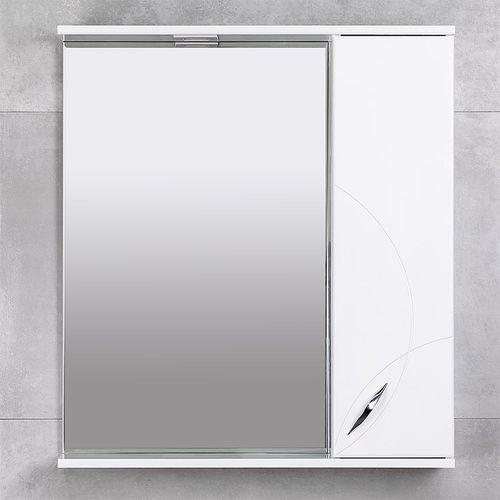 купить Premium Шкаф-зеркало белый 750 R в Кишинёве