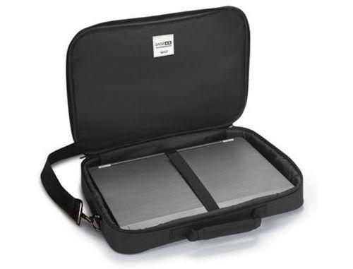 """купить Dicota D31127 BaseXX C / Notebook Case 15""""-17.3"""" Black (geanta laptop/сумка для ноутбука) в Кишинёве"""