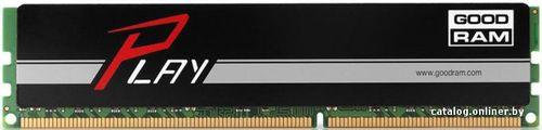 купить 4GB DDR4-2400  GOODRAM Play, PC19200, CL17, 1.2V, Aluminum BLACK heatsink в Кишинёве