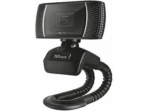 купить Trust Trino HD Video Webcam, 720p HD Webcam with convenient built-in microphone, 1,43m, USB в Кишинёве
