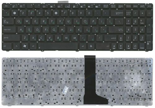 "купить Keyboard Asus U52 U53 U56 w/o frame ""ENTER""-small ENG/RU Black в Кишинёве"