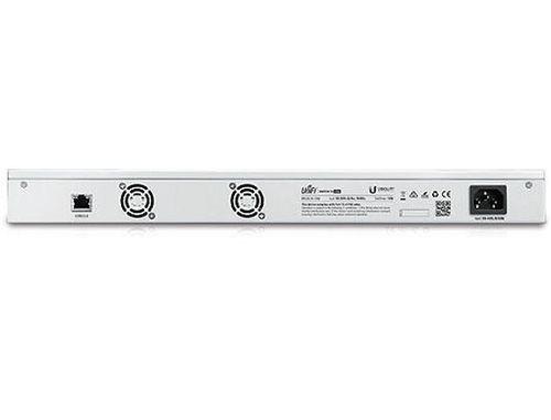 купить Ubiquiti UnFi Switch 16 (US-16-150W), 16-Port Gigabit RJ45, 2-ports SFP, 150W, POE+ IEEE 802.3at/af and 24V Passive PoE, PoE Output 150W, Non-Blocking Throughput: 18 Gbps, Switching Capacity: 36 Gbps, Rackmountable (retelistica switch/сетевой коммутатор) в Кишинёве