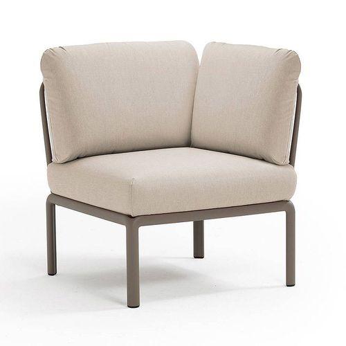 купить Кресло модуль угловой с подушками Nardi KOMODO ELEMENTO ANGOLO TORTORA-TECH panama 40374.10.131 в Кишинёве