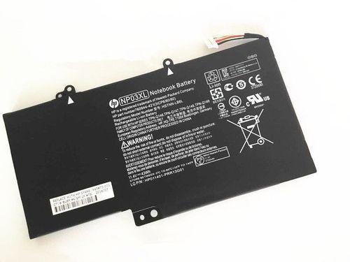 купить Battery HP Envy X360 13-A 15-U  NP03XL HSTNN-LB6L 761230-005 11.4V 3720mAh Black Original в Кишинёве