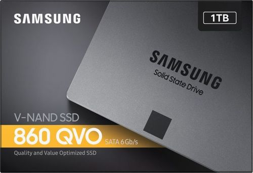 "купить 2.5"" SSD 1.0TB  Samsung SSD 860 QVO, SATAIII, Sequential Reads: 550 MB/s, Sequential Writes: 520 MB/s, Max Random 4k: Read: 96,000 IOPS / Write: 89,000 IOPS, 7mm, Samsung MJX controller, V-NAND 4bit MLC в Кишинёве"