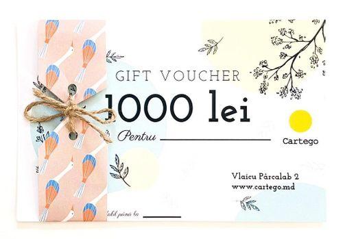 купить Подарочный сертификат - 1000 лей в Кишинёве