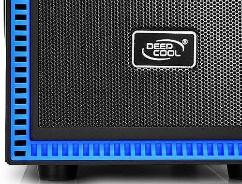 купить Case Middletower Deepcool TESSERACT BF ATX Black/Blue no PSU, 1xUSB3.0/1xUSB2.0/Audio x 1/Mic x 1, Included: Rear: 1x120mm DC fan; Optional: Front: 1x120mm; Top: 2x120mm; Side: 2x80/90/120mm (carcasa/корпус) в Кишинёве