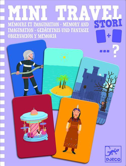 cumpără Stori - Memory and Imagination Mini Travel Game by Djeco în Chișinău
