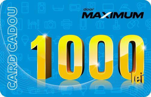 купить Сертификат подарочный Maximum 1000 MDL в Кишинёве