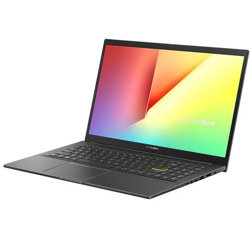 "купить Ноутбук 15.6"" ASUS VivoBook K513EA Black, Metal Case, Intel i3-1115G4 3.0-4.1Ghz/8GB DDR4/SSD 256GB/Intel UHD Graphics/WiFi 6 802.11ax/BT5.0/USB Type C/HDMI/HD WebCam/Illuminated Keyb./15.6"" FHD IPS LED-backlit NanoEdge Anti-glare (1920x1080)/No OS K513EA-BN996 в Кишинёве"