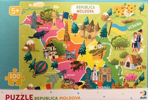 купить PUZZLE  Республика Молдова в Кишинёве