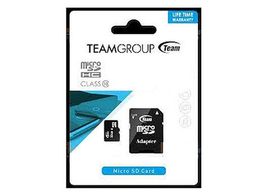 купить 32GB Team MicroSDHC Class 10 + Adapter MicroSD->SD, Read 20MB/s Write 14MB/s, TUSDH32GCL1003 (card de memorie/карта памяти) в Кишинёве