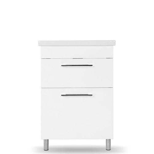 купить Prim Шкаф белый с умывальником City 600 в Кишинёве