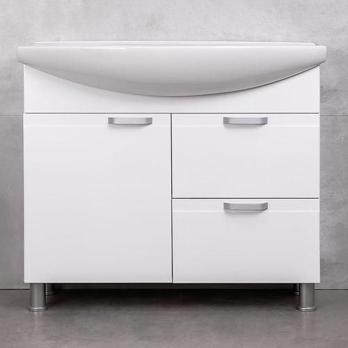 купить Rivera Шкаф белый с умывальником Zenon 970 в Кишинёве