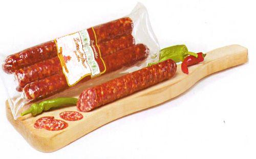 """купить """"Salsiccia Picante"""" Пикантная копчёная колбаса. ИТАЛИЯ  0,900гр = 300 Лей в Кишинёве"""