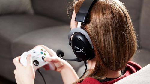 cumpără Cască cu microfon HyperX HHSC2-CG-SL/G, CloudX Xbox, Black/Silver în Chișinău