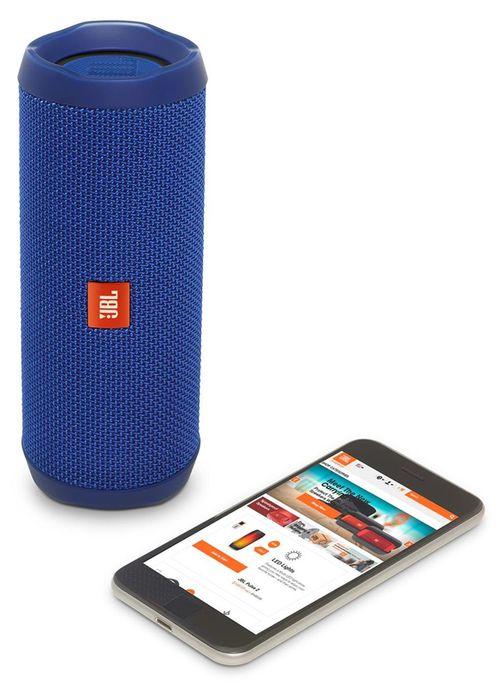 купить Колонка портативная Bluetooth JBL Flip 4 Blue в Кишинёве