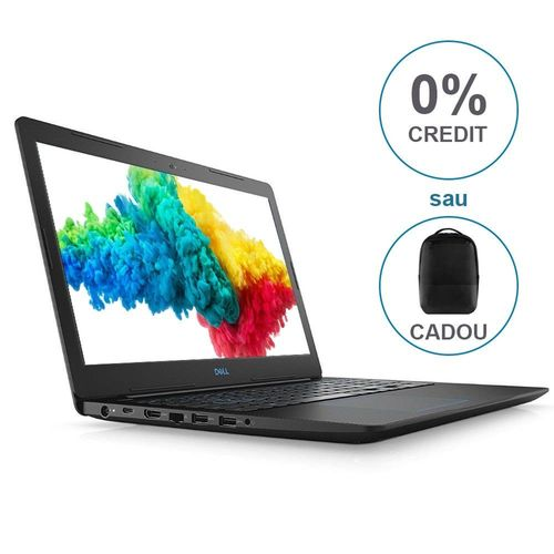 """купить DELL Inspiron Gaming 15 G3 Black (3579), 15.6"""" IPS FullHD (Intel® Hexa-core™ i7-8750H 2.20-4.10GHz (Coffee L), 8GB(1x8) DDR4 RAM, 256GB SSD,GeForce® GTX1050Ti 4Gb DDR5,CardReader, WiFi-AC/BT5.0, 4cell,HD720p Webcam, Backlit KB, RUS, Ubuntu,2.53kg.) в Кишинёве"""
