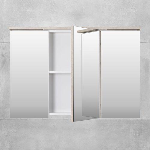 купить Шкаф-зеркало Dorado ясень Led 1000 в Кишинёве