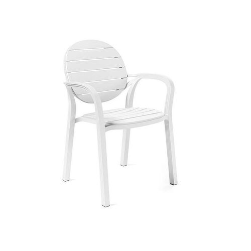 купить Кресло Nardi PALMA BIANCO-BIANCO 40237.00.000 (Кресло для сада и террасы) в Кишинёве