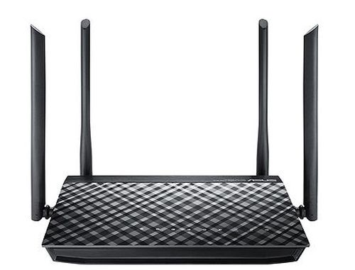 купить ASUS RT-AC1200 V2, Dual-band Wireless-AC1200 Router, 2.4GHz/5GHz for up to super-fast 1167Mbps, External antenna x 4, WAN:1xRJ45 LAN: 4xRJ45 10/100, Firewall в Кишинёве