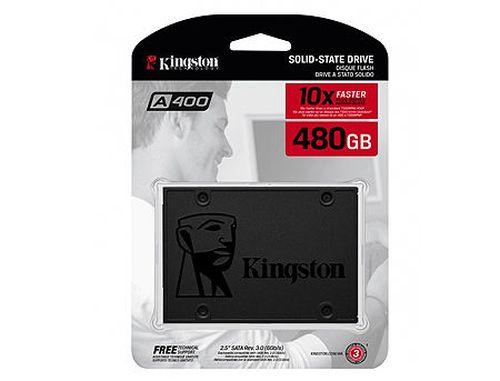 """купить 480GB SSD 2.5"""" Kingston SSDNow SA400S37/480G, 7mm, Read 500MB/s, Write 450MB/s, SATA III 6.0 Gbps (solid state drive intern SSD/внутрений высокоскоростной накопитель SSD) в Кишинёве"""