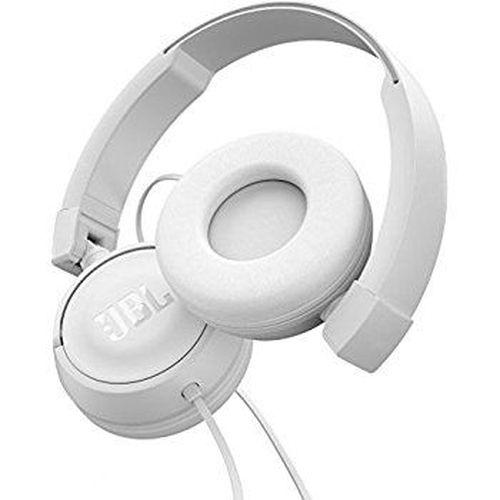 купить JBL T450 On-ear Headset, White в Кишинёве