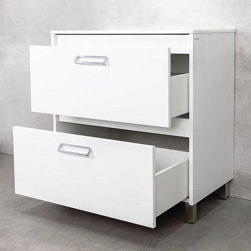 купить Montana Шкаф белый под умывальник Allegro 800 в Кишинёве