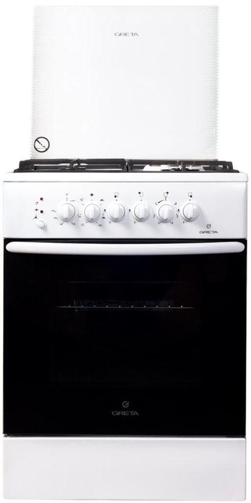 купить Плита комбинированная Greta GS600/00(WH) в Кишинёве