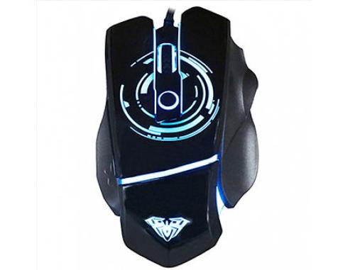 купить AULA Catastrophe Gaming Mouse, DPI (750/1750/3000/5000), Programmable buttons, Backlighting with 6 different colors, 1.85m, USB, gamer (mouse/мышь) в Кишинёве