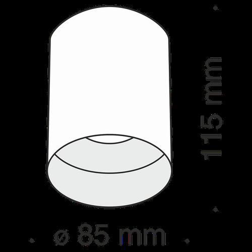 купить Спот накладной C014CL-01B в Кишинёве