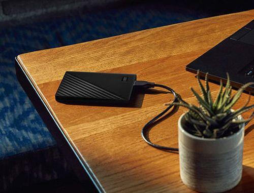 "купить 2.5"" 4TB External HDD WD My Passport Portable WDBPKJ0040BBK-WESN, Black, USB 3.2 (hard disk extern HDD/внешний жесткий диск HDD) в Кишинёве"