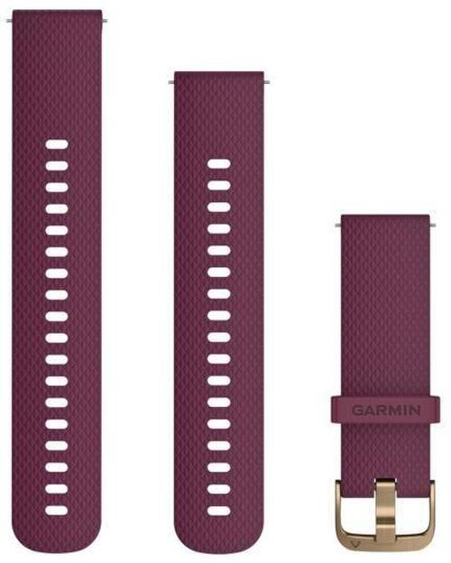 купить Аксессуар для моб. устройства Garmin Quick Release Bands (20 mm) Berry with Light Gold Hardware в Кишинёве
