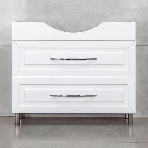 купить Шкаф Aspiro белый хром под умывальник Alba 1000 в Кишинёве