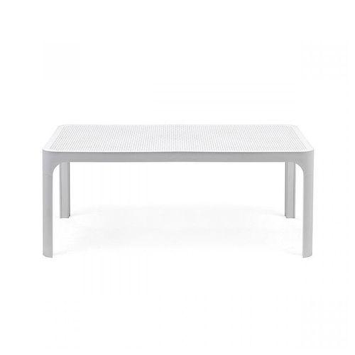 купить Стол кофейный Nardi NET TABLE 100 BIANCO 40064.00.000 (Стол кофейный для сада лежака террасы балкон) в Кишинёве