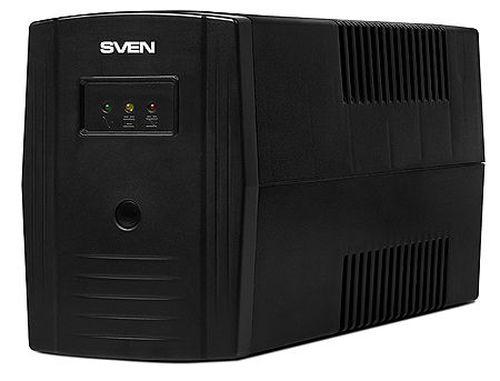купить SVEN Pro 800 Line-Interactive, 800VA/480W, AVR, Input 175~280V, Output 220V +-10 %, (UPS, sursa neintreruptibila de energie/ ИБП источник бесперебойного питания) в Кишинёве